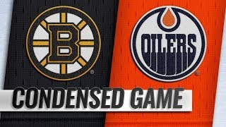 Boston Bruins vs Edmonton Oilers – Oct.18, 2018 | Game Highlights | NHL 18/19 | Обзор матча
