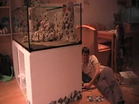 aquariumschrank zierfliesen youtube. Black Bedroom Furniture Sets. Home Design Ideas