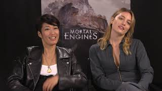 Jihae and Leila George Talk Mortal Engines!