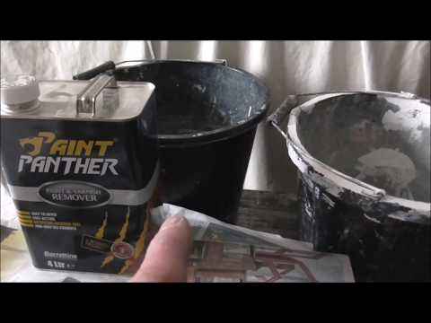 Cleaning Hardened Paint Brushes