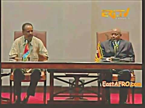 Presidents Isaias and Museveni's joint press conference (Eritrea - Uganda)