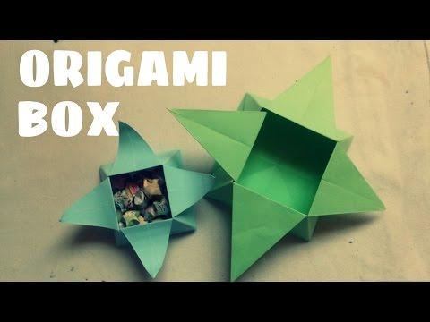 DIY - Cách làm hộp đựng đồ bằng giấy cực dễ