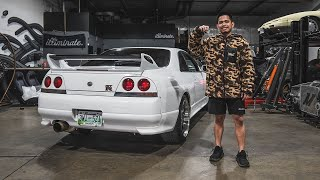 Surprising my BEST FRIEND with his DREAM R33 GTR!!!