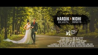 Hardik & Nidhi pre-wedding by sat Media Production