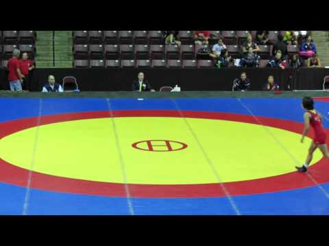 2014 Junior Pan-American Championships: 48 kg Amy Hou (USA) vs. Evelin Sosa (ARG)