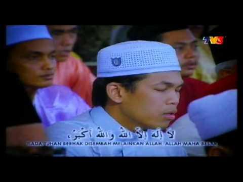 Takbir Aidilfitri 1433 Hijrah - 2012 (TV3)!