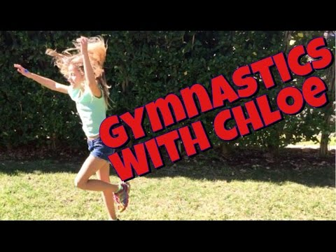 Chloe's First Gymnastics Video