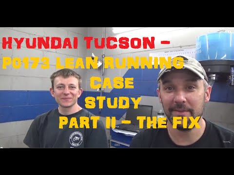 Hyundai Tucson P0173 Case Study Part 2