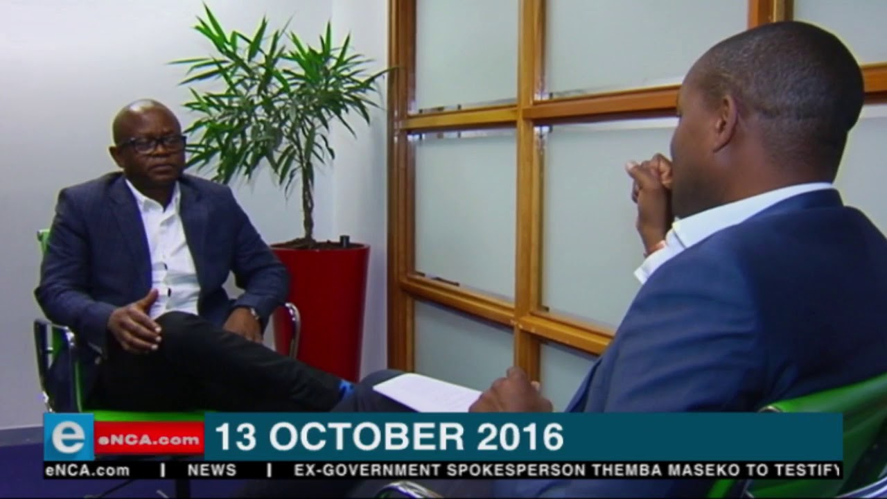 Themba Maseko to testify at State Capture Inquiry.
