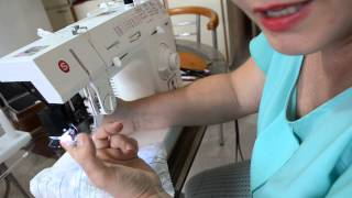 Como costurar retas, curvas e barras para iniciante
