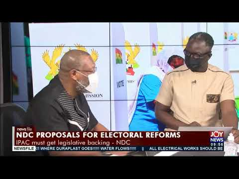 Electoral reforms: EC can't create political parties that don't exist - Alex Segbefia #Newsfile