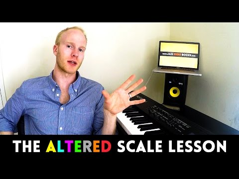 The ALTERED SCALE EXPLAINED ...once and for all (jazz lesson)