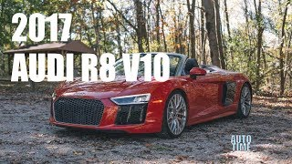 WOW! 2017 Audi R8 V10 Spyder Drivers' Notes - Automotive Time