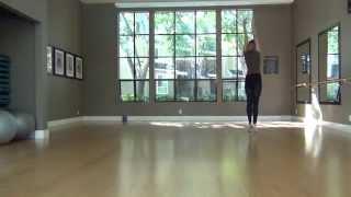 Rhythmic gymnastics, California (открытый урок по художественной гимнастике).
