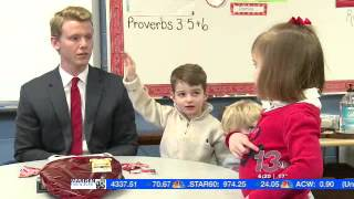 LOVE ADVICE: Reporter sits down with kids on Valentines Day to get some dating tips.