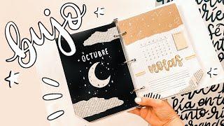 BULLET JOURNAL planea conmigo OCTUBRE! 2020! ✄ Barbs Arenas Art!