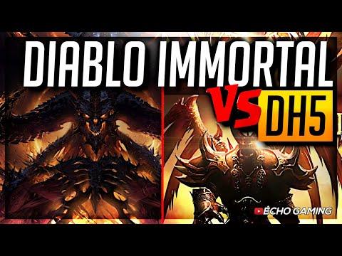 Diablo Immortal Vs Dungeon Hunter 5