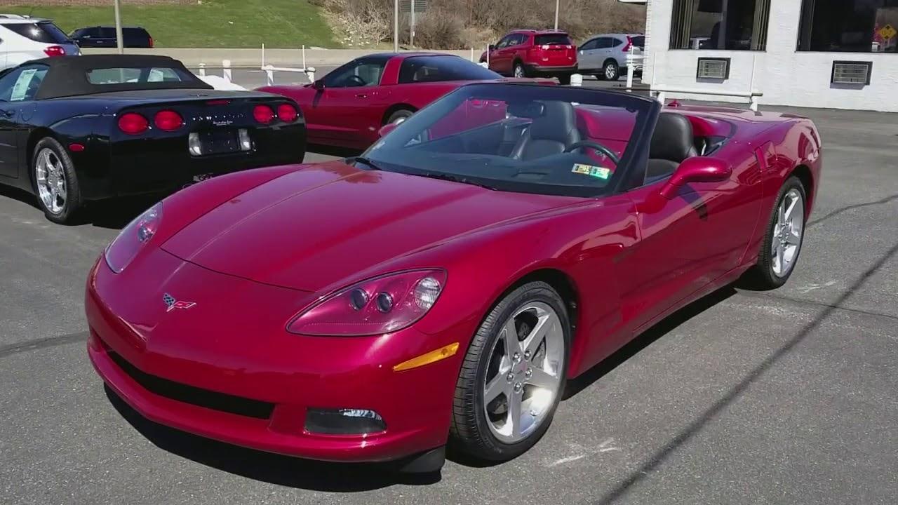 2005 Chevrolet Corvette Convertible Magnetic Red Metallic
