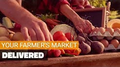Online Farmer's Market. Free Delivery - Milk and Eggs