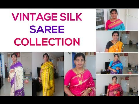 VINTAGE SILK SAREE COLLECTION