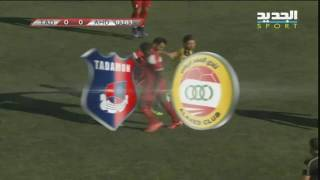 Tadamon Sour vs Al-Ahed full match