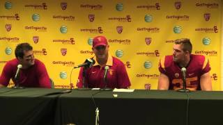 USC Football Utah Post Game Presser
