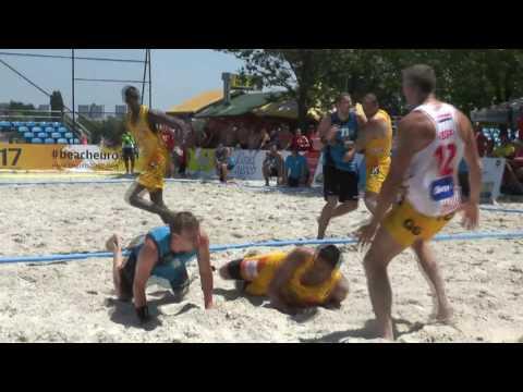 Beach Handball EURO Croatia 2017 Day 3 Highlights