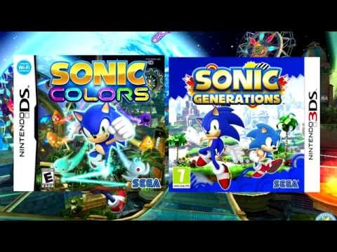 Sonic Colours and Generations Tropical Resort (Modern) Music Fused!!