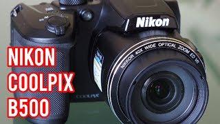 Unboxing #1 : Nikon coolpix B500 , best superzoom camera 2018 !!