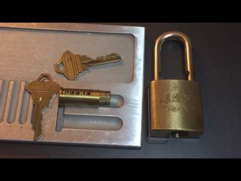 "[279] Almont ""ReKey"" Padlock Picked and Gutted"