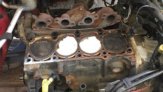 How to clean engine block of old head gasket