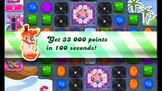 Candy Crush Saga Level 1632 walkthrough (no boosters)