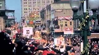 New Orleans Mardi Gras Celebration 1941