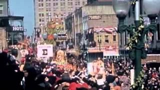 New Orleans Mardi Gras Celebration 1941
