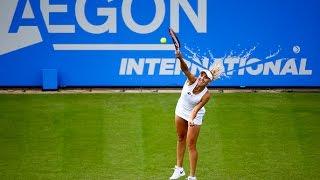 2016 Aegon International First Round | Elena Vesnina vs Heather Watson | WTA Highlights
