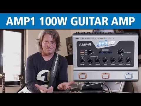 BluGuitar AMP1 100 Watt Guitar Amp explained by Thomas Blug
