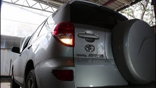 Не светит лампа заднего хода на Toyota RAV4 2,0 Тойота РАВ 4 2007 года