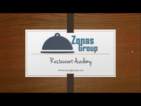 Zonas Group - Restaurant Academy Free Webinar