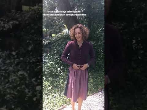 Damen Janker zum Dirndl Oktoberfest Rot Huber Trachten Strickjacke Iris