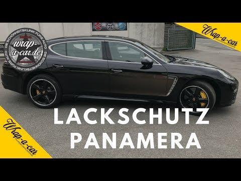Porsche Panamera Lackschutzfolie Vollfolierung by wrap-a-car