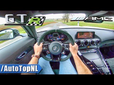 Mercedes AMG GTR PRO   POV Test Drive By AutoTopNL