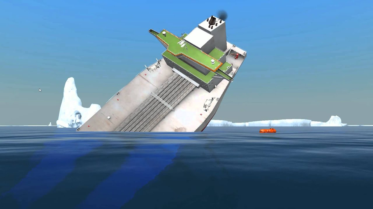 Oil Tanker Sinks Ship Simulator Extremes Youtube