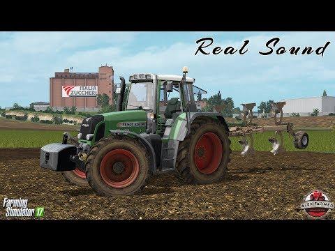 FARMING SIMULATOR 2017 | REAL SOUND FENDT 820 - ALEXFARMER