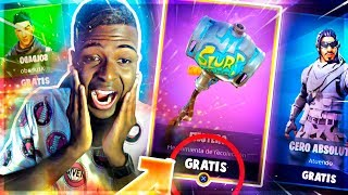 GET ALL FORTNITE STORE TOTALLY FREE!! SKINS, PICOS AND MILLIONS OF PAVOS