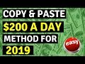 How To Make Money Online 2019 - Part 2 - Copy & Paste Method To Make Money