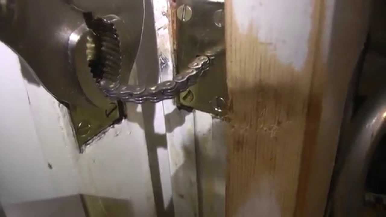 Fitting Or Repairing A Concealed Door Closer Youtube