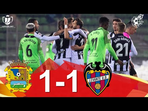 CF Fuenlabrada Levante Goals And Highlights