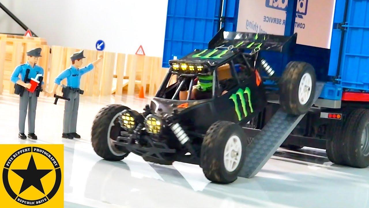 bruder toys 2018 sprinter race buggy rc for children youtube. Black Bedroom Furniture Sets. Home Design Ideas