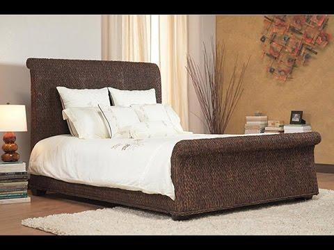 Wicker Sleigh Beds Home Design Ideas