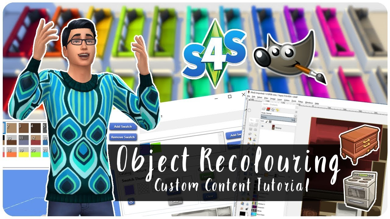 Object Recolours | The Sims 4 Tutorial (Colours & Patterns)